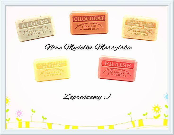 Mydła Marsylskie z masłem SHEA