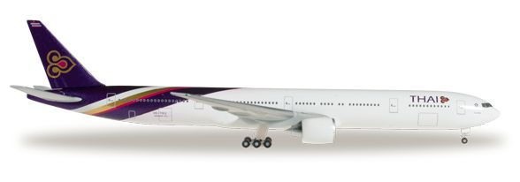 1/500 Herpa Thai Airways International Boeing 777-300ER Diecast Model