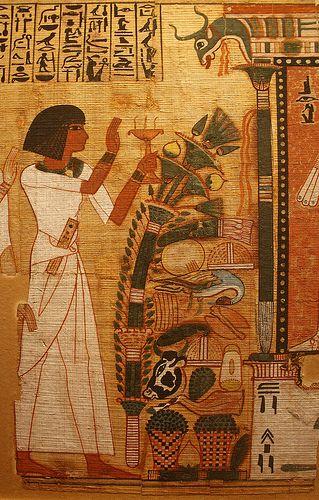 Book of the Dead of Nebqed | Livre des Morts du scribe Nebqe… | Flickr