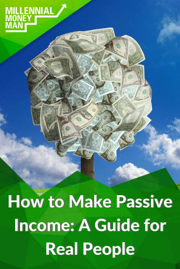 """This resource is amazing! There are so many real, non-scammy ways to make passive income in this post. I also love how it doesn't sugar coat anything or say that passive income is """"easy"""". via @genymoneyman"""
