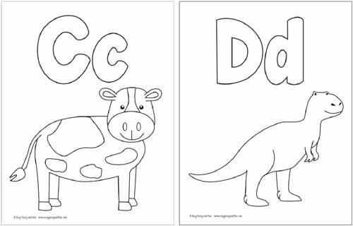 Free Printable Alphabet Coloring Pages | Alphabet coloring ...