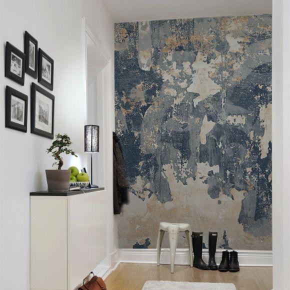 1000 id es sur le th me peinture effet beton sur pinterest for Mur separateur decoratif