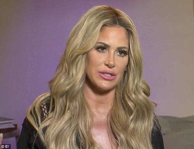 Ready for surgery: Kim Zolciak is to go under the knife to correct a hole in her heart dis...