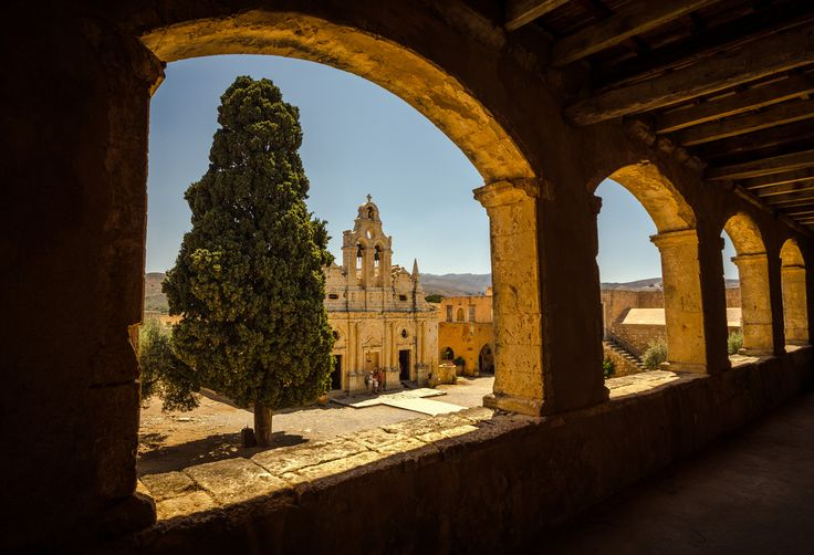 Arkadi monastery,Rethymno,Crete.