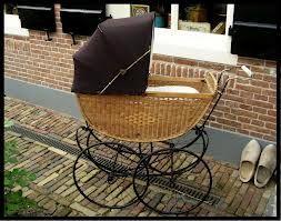 oude kinderwagen