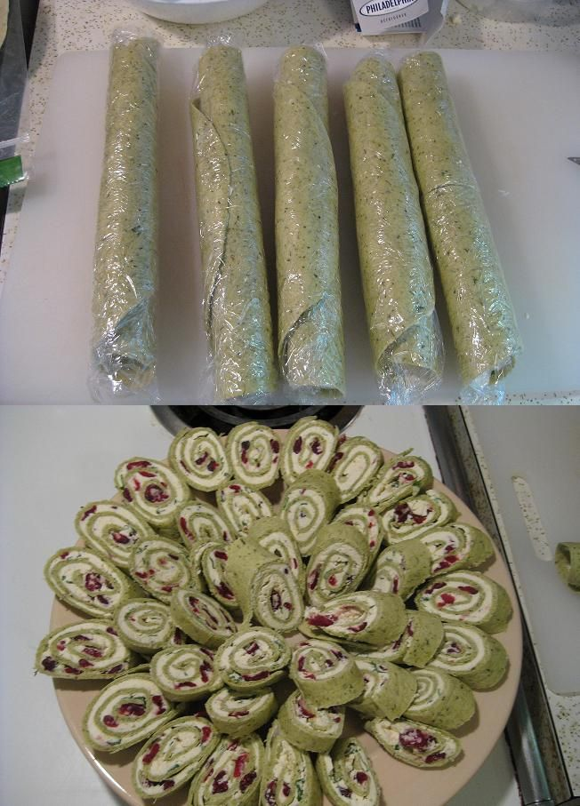 A hit and super simple. Cream Cheese & Feta Pinwheels   Tasty Kitchen: A Happy Recipe Community!