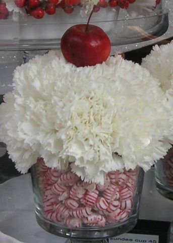 Centerpiece ~ Christmas ~Candy Themed