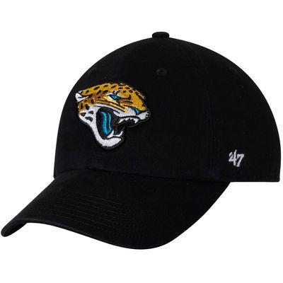 Jacksonville Jaguars '47 Youth Clean Up Adjustable Hat - Black