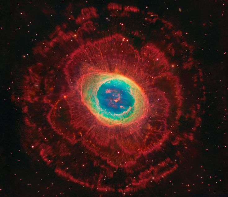 Astronomy Picture of the Day for 13 Aug 2014. It is a familiar sight to sky enthusiasts with even a small telescope. There is much more to the Ring Nebula (M57), however, than can be seen through a small telescope.