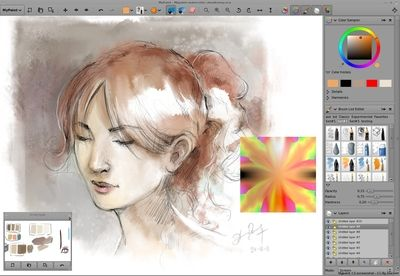 MyPaint - 10 Free Drawing Software Worth a Try - EnkiVillage