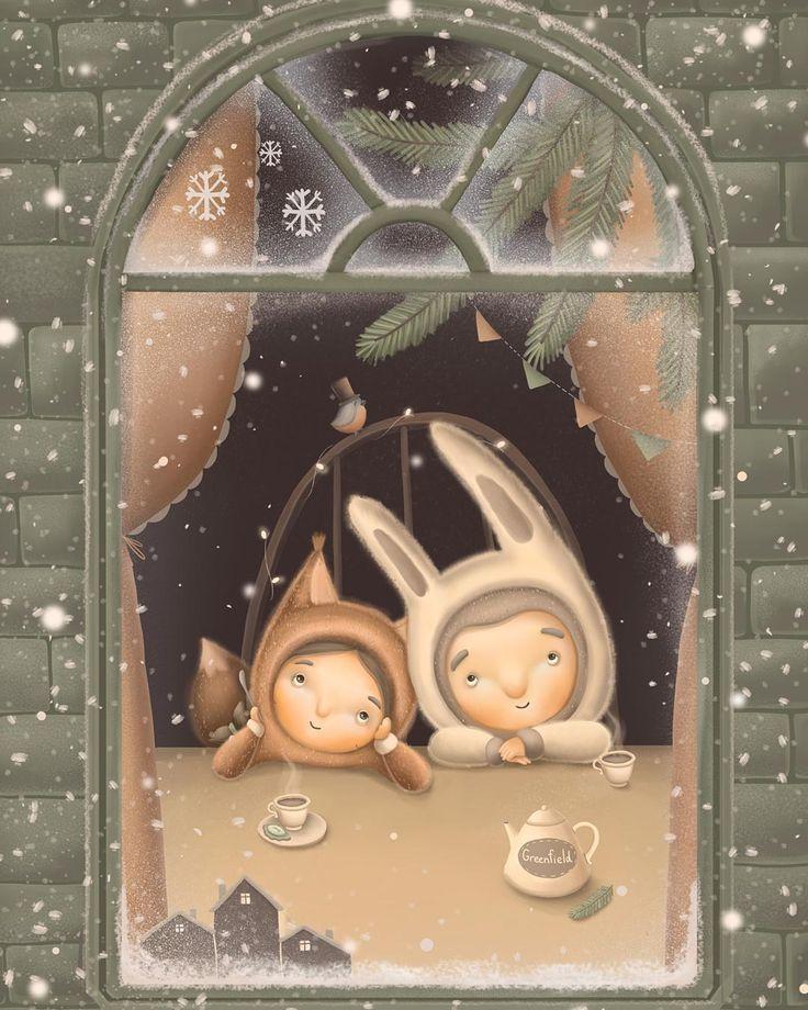 «История о том, когда все девочки были - белочки, а мальчики - зайчики. верили в волшебство и ждали чуда на новый год) Здравствуйте, зима! Спасибо что…»