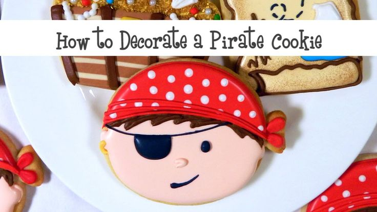 How to Decorate a Pirate Cookie