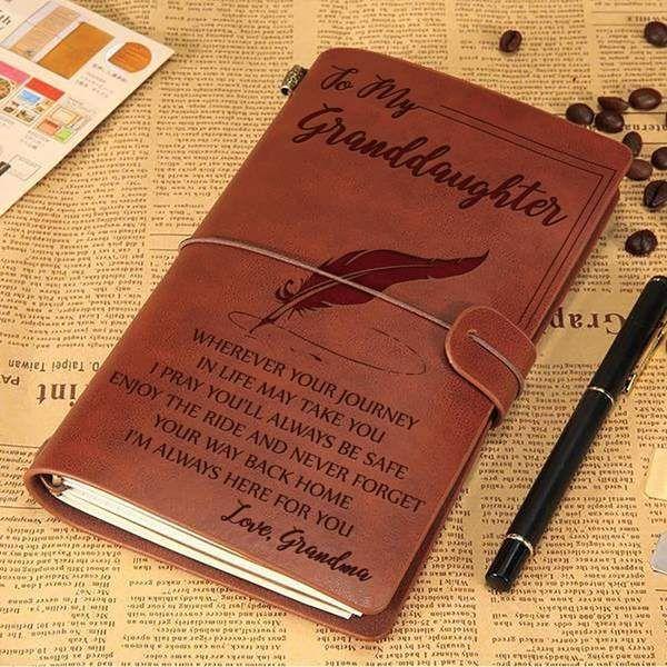 To My Granddaughter From Grandma Beautiful Vintage Journal Vintage Journal To My Daughter Daughter