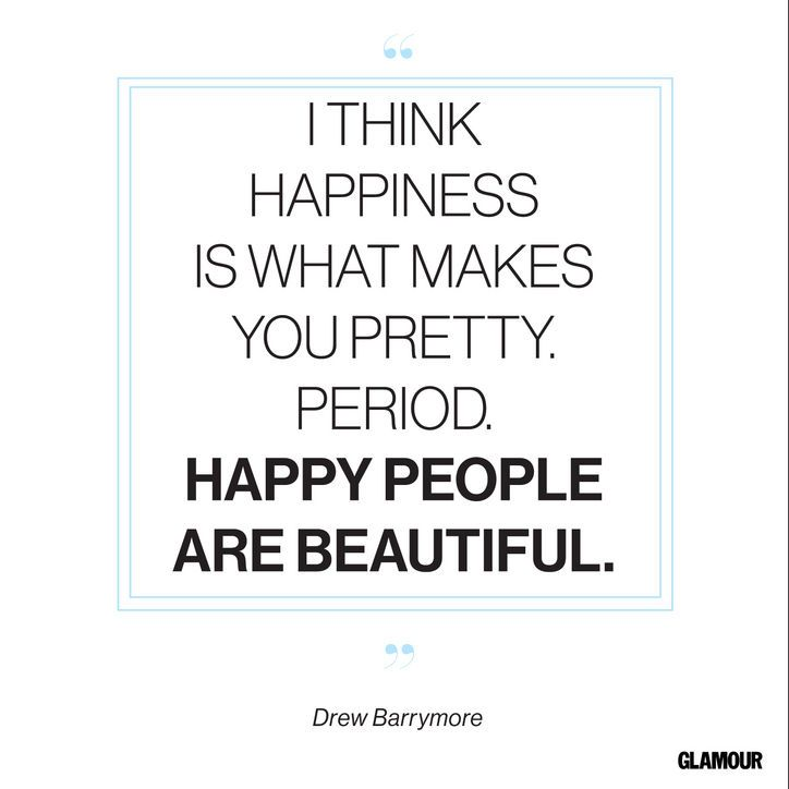 Happiness Quote From Drew Barrymore
