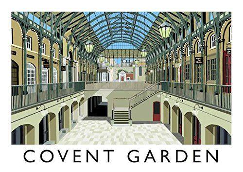 Covent Garden Art Print (A3)