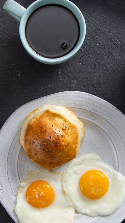 When you stuff your biscuit with pork sausage gravy, you're guaranteed the perfect bite every time.