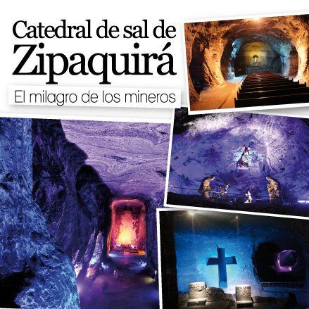 Zipaquirá en Cundinamarca, CATEDRAL DE SAL DE ZIPAQUIRÁ, El milagro de los mineroshttp://www.inkomoda.com/catedral-de-sal-de-zipaquira-el-milagro-de-los-mineros/