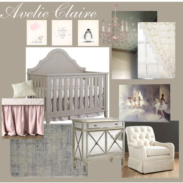 20 Gray And Yellow Nursery Designs With Refreshing Elegance: Elegant Baby Girl Nursery