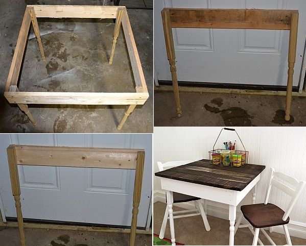 Kid's Pallet Table