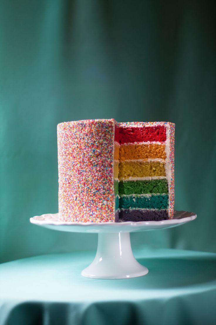 Rainbow Sprinkle Cake