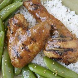 Hidden Valley Ranch Grilled Chicken Mock Thai Marinade