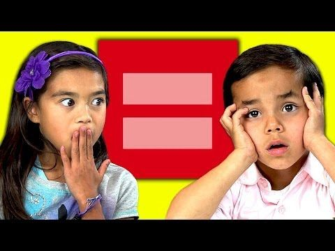 """Watch Kids React to Gay Marriage  Something I found interesting, it's really refreshing to see most of these kids support gay marriage and human rights because it's just fair. And as for the older teenage boy saying """"there's no valid reason to hate gay people"""" the fact that the younger boy who was against it but didn't know why just reasserted that idea."""