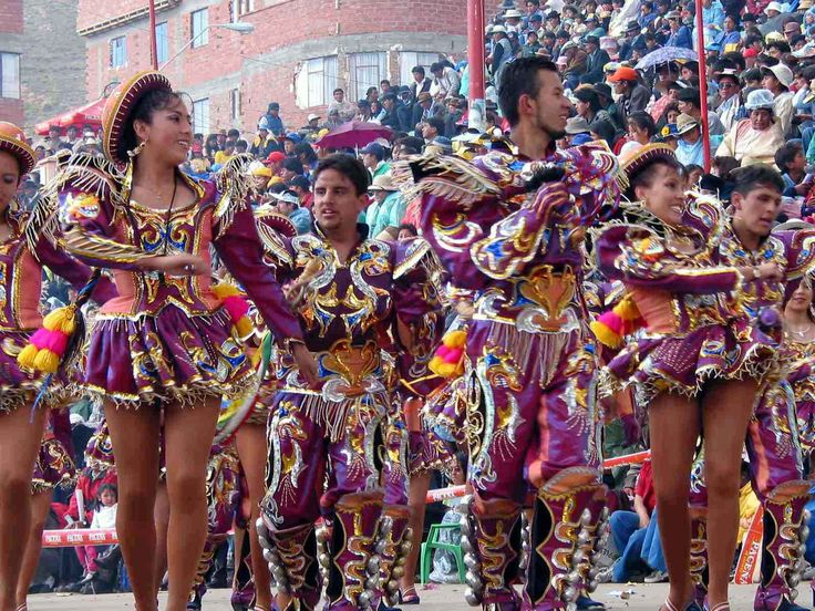 This is actually the carnaval in Oruro, Bolivia