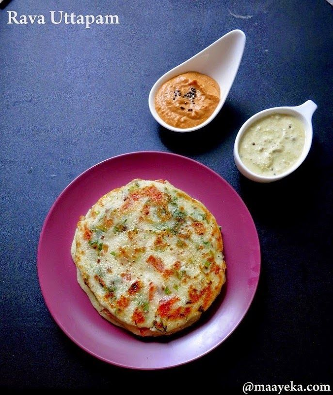53 best indian images on pinterest indian food recipes indian quick rava uttapam quicklight and easy vegetable and semolina pancakes forumfinder Images