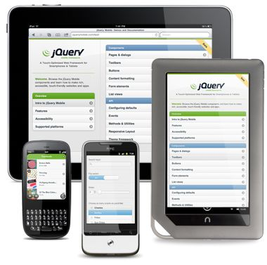 jQuery Mobile: Touch-Optimized Web Framework for Smartphones & Tablets