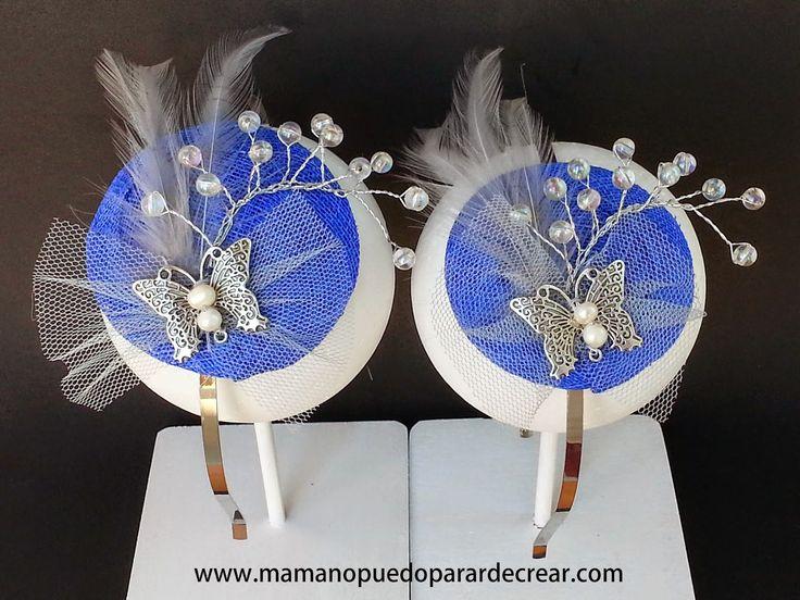 Mama no puedo parar de crear ®: Damitas de Honor con Mini Tocados Mama no puedo pa...