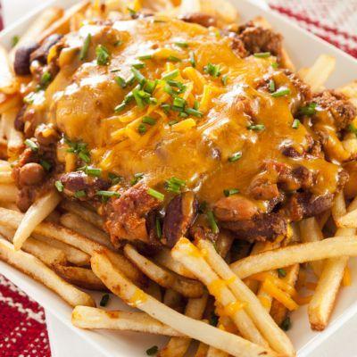 Wienerschnitzel Copycat Chili Cheese Fries