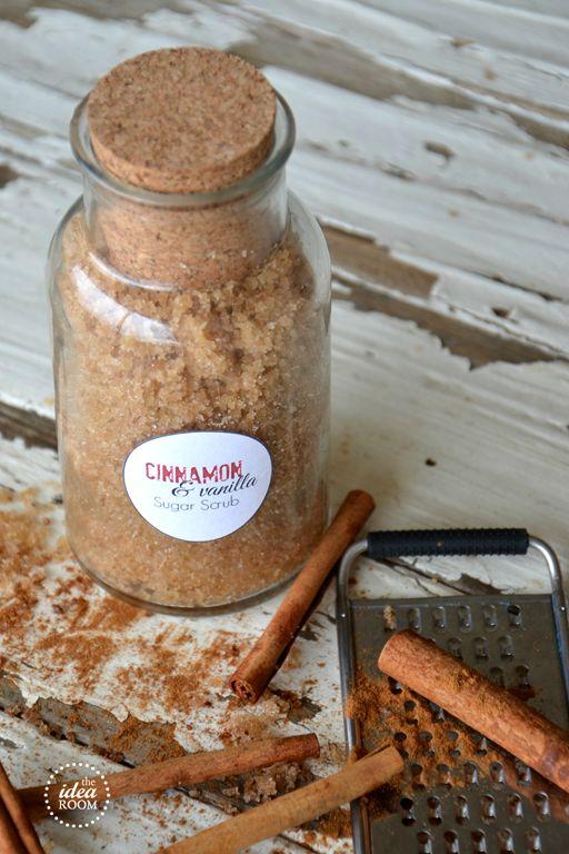 Cinnamon Vanilla Sugar Scrub - The Idea Room