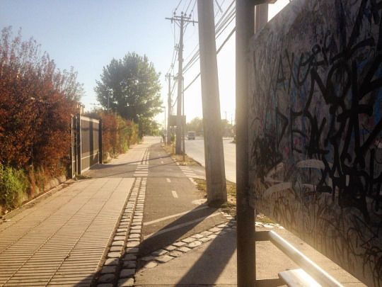 Fomingo full calor! (en Santiago, Chile)