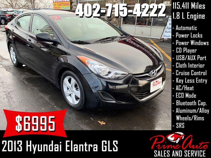 2013 Hyundai Elantra GLS Call us today! 4027154222