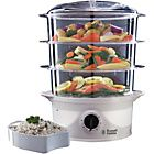 Russell Hobbs 21141 Your Creations 3 Tier Steamer - White