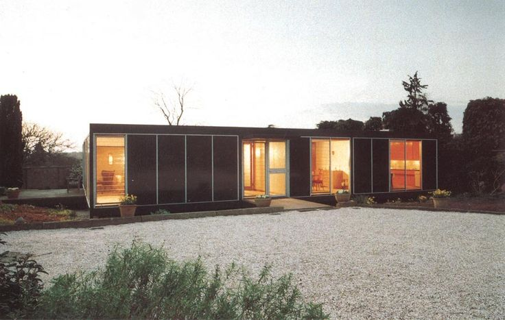 Forest Lodge, The Manser Practice #house #steel #glazing #modern #crisp #elegant #minimal #classic