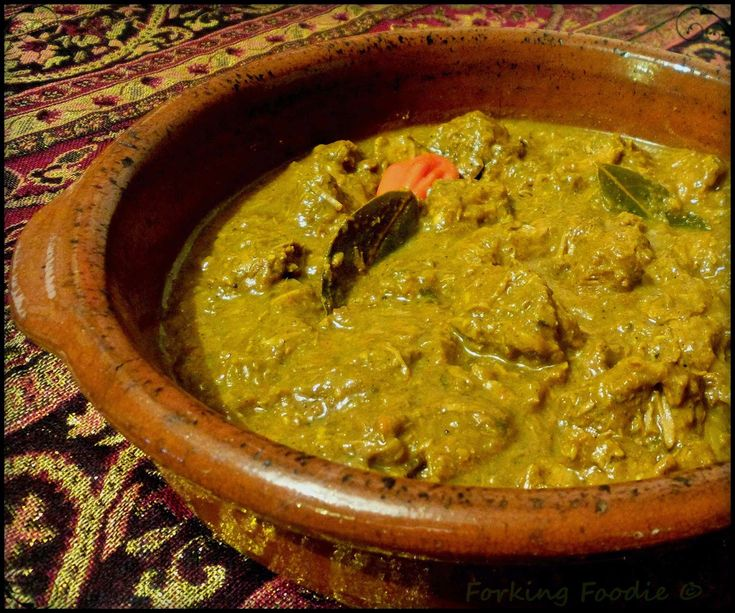 Forking Foodie: Jamaican Curry Goat or Lamb (includes Thermomix and Instant Pot instructions)