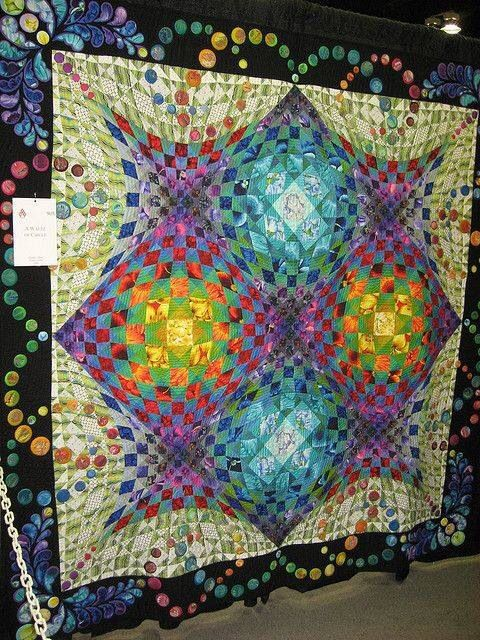 Kalidescope Quilts I Love Optical Illusion Quilts