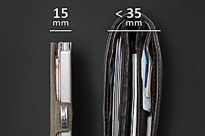 I-CLIP portafoglio sottile