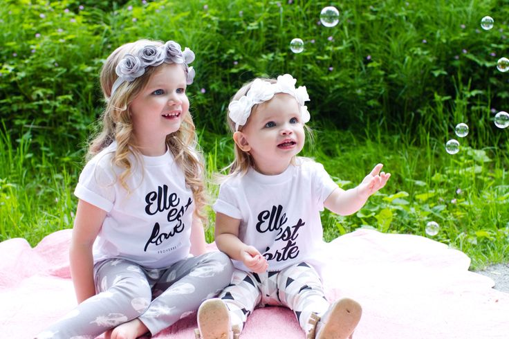 Elle est Forte//She is Strong kids Tee Proverbs 31 www.sheisclothing.etsy.com