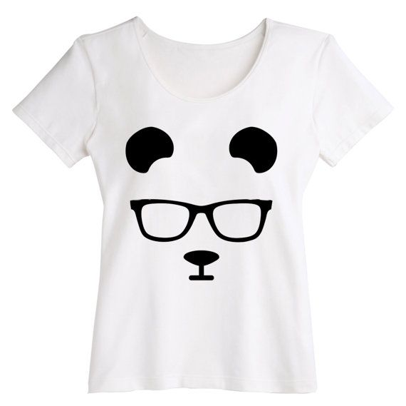panda fan art  t shirt for woman  Shirts Unisex by Wastelpark, $18.00