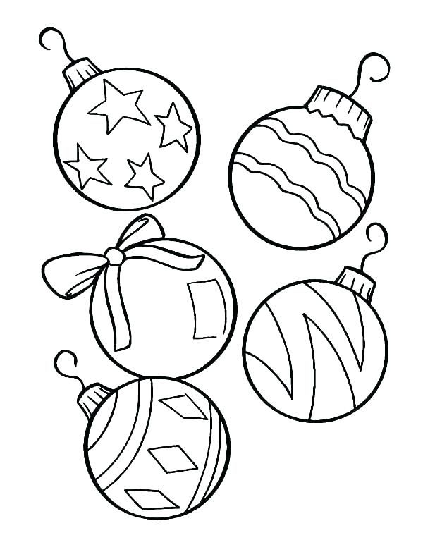 Printable Christmas Ornaments Coloring Pages Coloring Pages Ornamen Christmas Tree Coloring Page Printable Christmas Ornaments Christmas Ornament Coloring Page