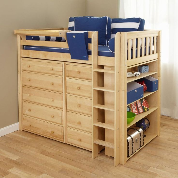 Childrens Storage Beds For Small Rooms 38 best kids room bunkbeds images on pinterest | children, 3/4