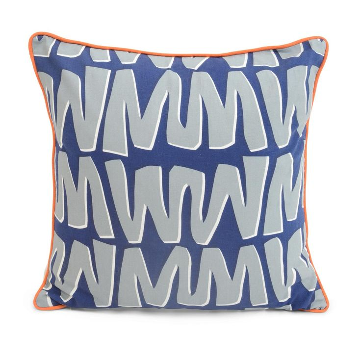 Zig Zag Cushion by Sunny Todd for Heal's   #HealsAW15