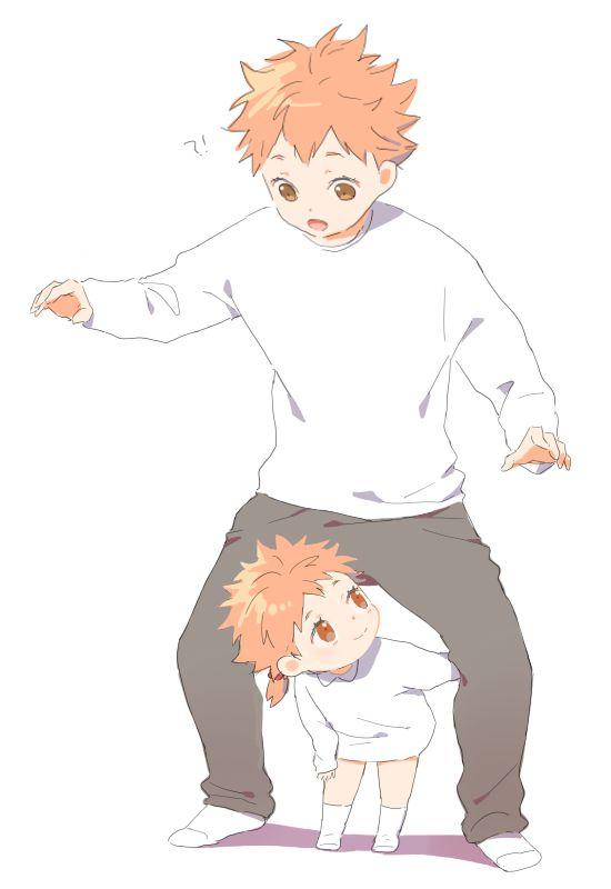 Two Little Sunshines | Hinata and his Sister | Haikyuu!! | Anime