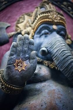 Considered the deity of wisdom and good beginnings, it is in Ganesha's name that new ventures are undertaken and important life decisions are made.