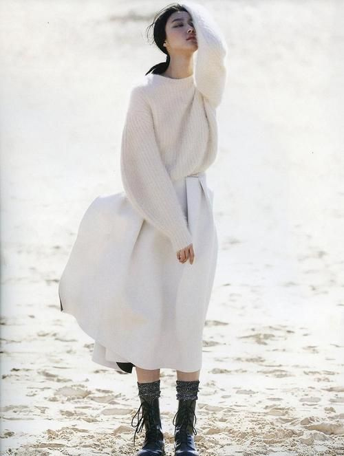 Ji Hye Park by Emma Tempest For Vogue Russia