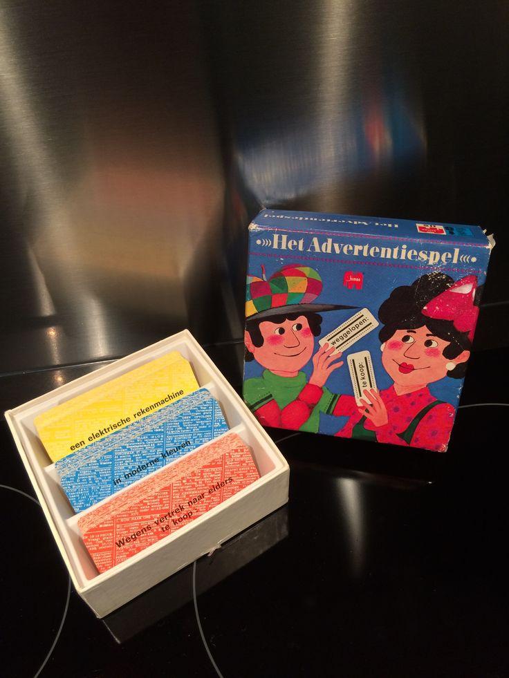 Het Advertentiespel Jumbo Compleet Vintage
