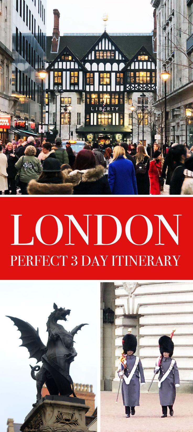 Perfect London 3 Day Itinerary | Pretty Prudent
