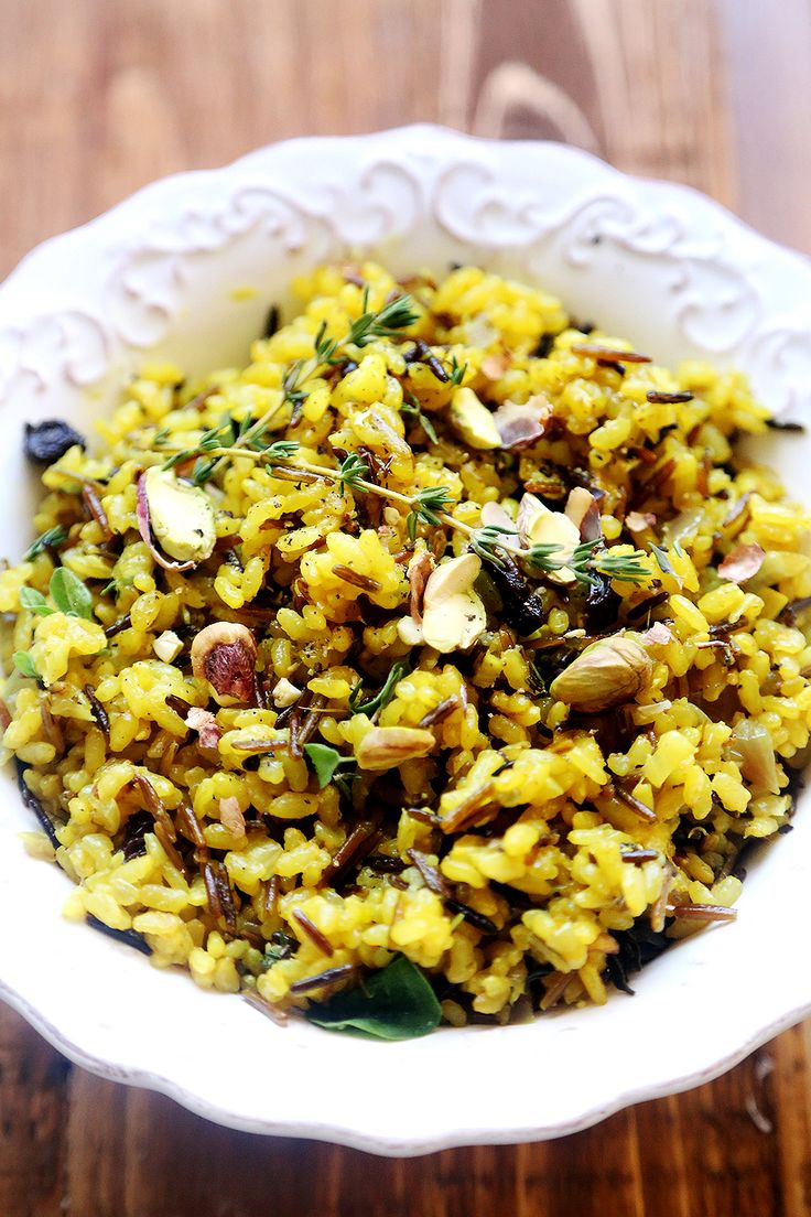 Curried Herb Rice Salad | Recipe | Okra, Short grain brown ...